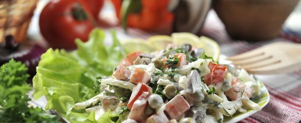 салат зі свинячого серця рецепт