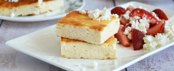 запіканка з сиру з манкою