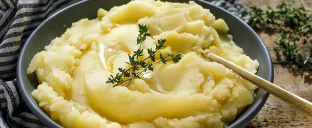картопляне пюре з молоком