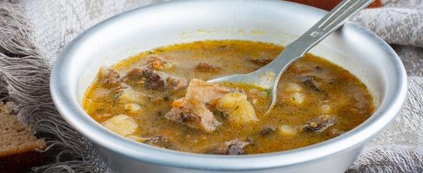 Грибний суп із заморожених грибів