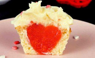 кекси з серцем