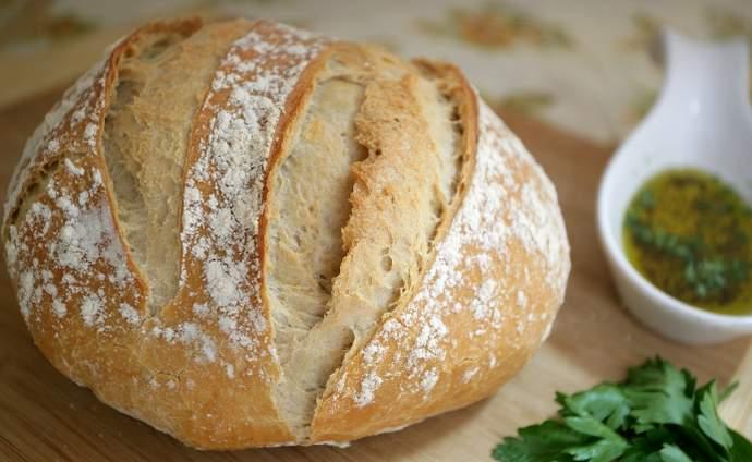 Пісний домашній хліб