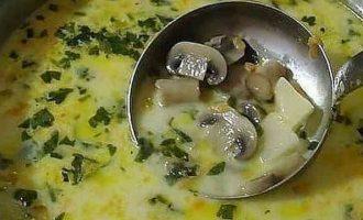 Оксамитовий грибний суп