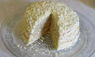 Торт Молочна дівчинка на сковороді