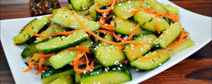 Огірки по-корейськи