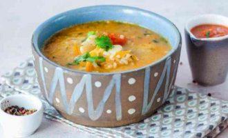 Грузинський суп з квасолі