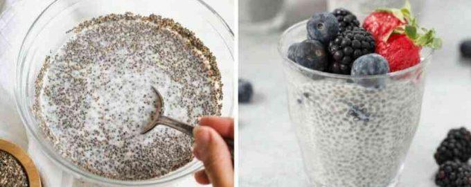 Пудинг з насіння Чіа