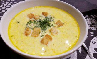 Сирний суп на швидку руку