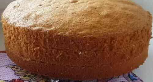 пишний бісквіт для торта по-американськи
