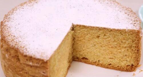 бісквіт для торта на майонезі