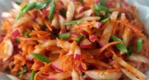 салат з редискою по-корейськи