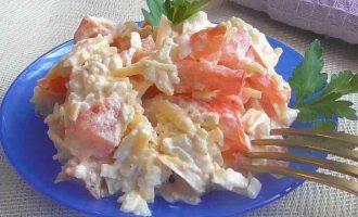 Салат з трьох інгредієнтів
