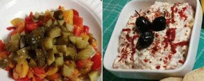Салат з бринзою Зимовий день