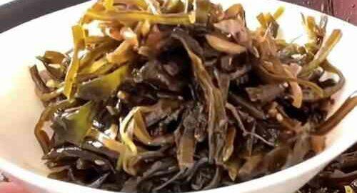 салат з морської капусти по-корейськи