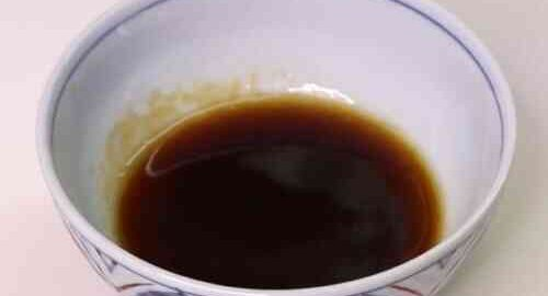 Заправка з соєвого соусу, меду і оцту по-японськи