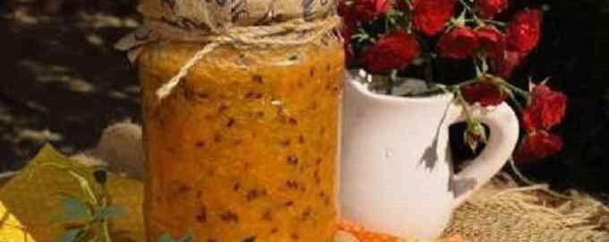 Обліпиха протерта блендером з цукром на зиму