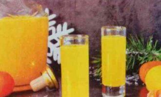 Лікер алкогольний цитрусовий