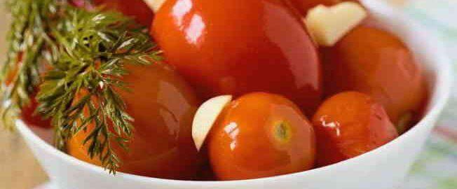 Квашені помідори на зиму без оцту