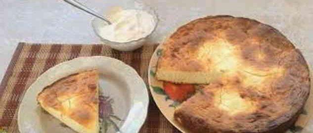 Дієтична запіканка з сиру