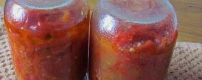 рецепт приготування лобіо з квасолі на зиму