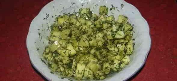 Мариновані кабачки, як гриби, швидкого приготування