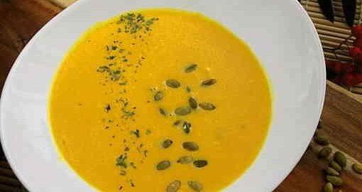 рецепт крем-супу з гарбуза з вершками