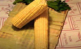Як варити кукурудзу Бондюель в качанах