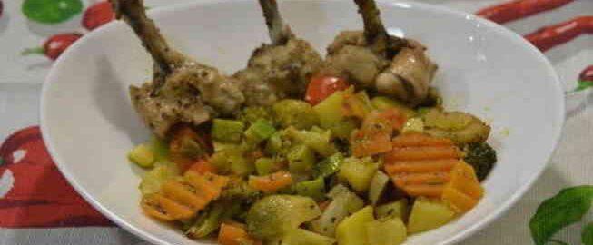 овочі в рукаві для запікання