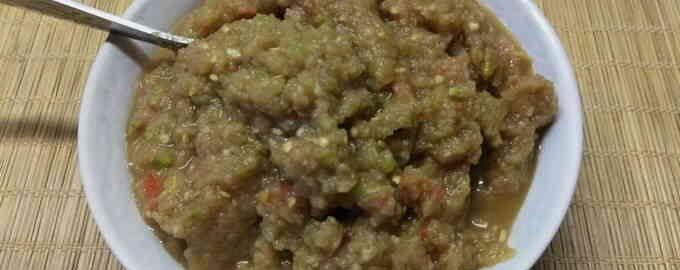 закуска з баклажанів і кабачків