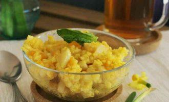 рецепт каші з пшона з гарбузом і яблуками